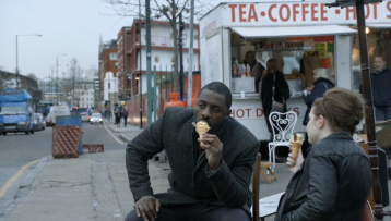 And sure, I'll take more Idris Elba eating ice cream.