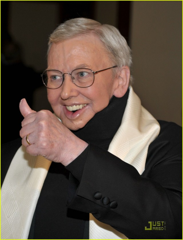 Roger Ebert gives a thumbs up