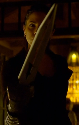 Oh Lost Girl, you and your phallic weaponry!
