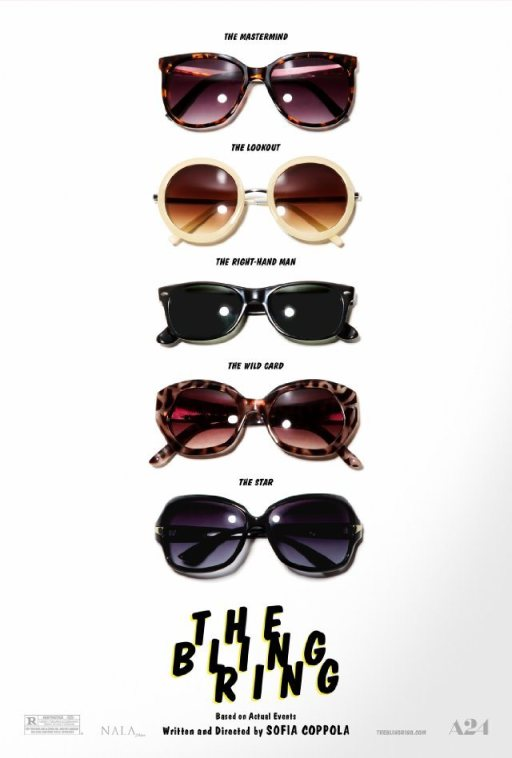 I love this poster, and the sunglasses really are a theme throughout.