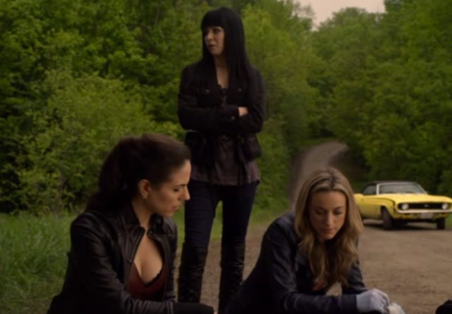 As always, Kenzi's facial expressions are priceless.