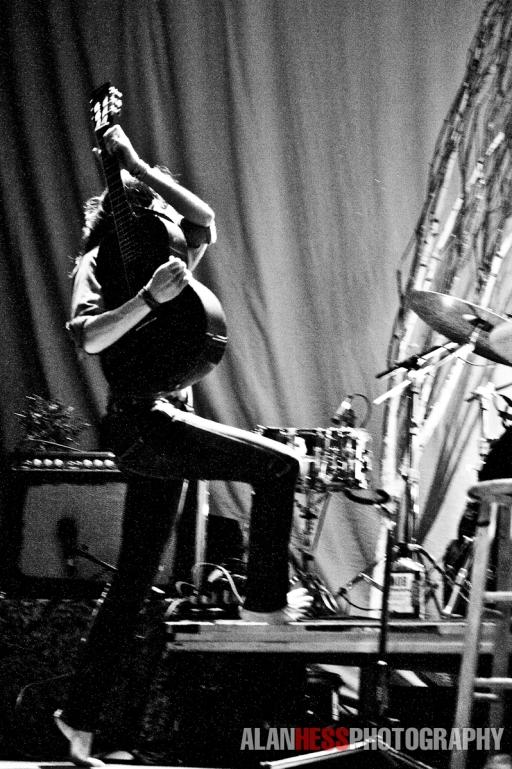Brandi Shredding Guitar