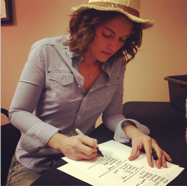 Every Time I Hear That Song Brandi Carlile: Brandi Carlile Writing The Night's Set List (from...