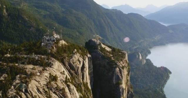 mountain establishing