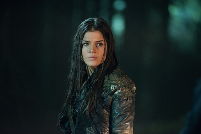 "The 100 -- ""Nevermore"" -- Image HU311b_0009 -- Pictured: Marie Avgeropoulos as Octavia -- Credit: Diyah Pera/The CW -- © 2016 The CW Network, LLC. All Rights Reserved"
