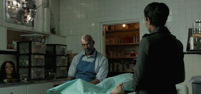 6 morgue scene